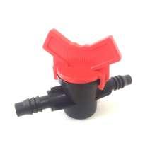 Llave de paso para tubo de - ø interior 10mm.