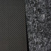 One-sided carbon fiber plate - 2500 x 1200 x 2 mm.