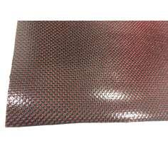 Lámina flexible de fibra de carbono con seda de color (Color Negro y Rojo) con adhesivo 3M