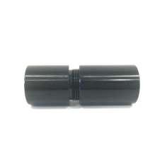 Conector de alumínio com rosca para conexão de tubos com dimensões (20mm, Ø externo)