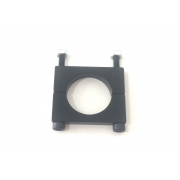 Aluminum clamp for tubo outer tube 25mm.