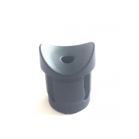 T transverse connector for round tubes with 20 mm. Ø outside and 18 mm. of Ø inside
