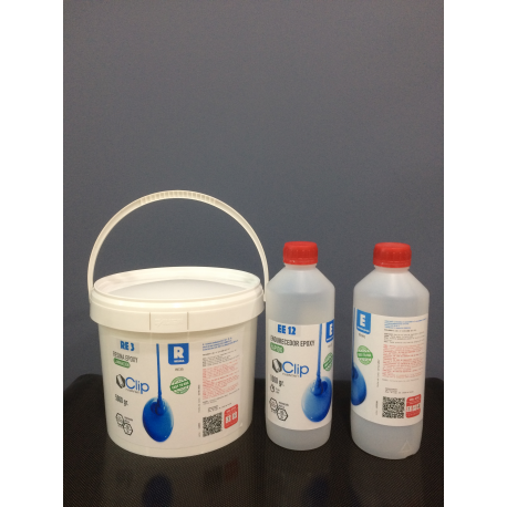 EPOXY LAMINATION KIT FOR FAST CURING - 6750 gr.