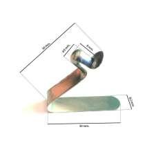 Mola de INOX para tubo D6