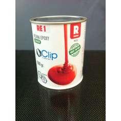 Resina epóxi para acabamento cosmético RE1 - 1 Kg.
