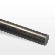Varilla de fibra de carbono. Diámetro 25mm. Longitud 1000mm.