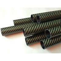 Carbon Fiber-Kevlar tube, special submarine fishing spearguns (28mm Ø ext - 25mm int Ø) 600 to 1200mm.