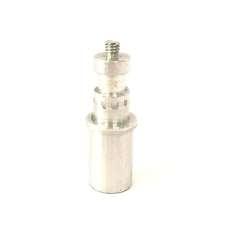 """Conector adaptador multimedia rosca 1/4"""" para tubo 23x20mm."""