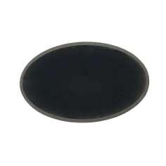 Tubo ovalado de fibra de carbono (58x36mm.) Ø exterior - (55x33mm.) Ø interior - 400mm.