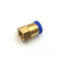"""Adapter tube to thread Ø 8mm-1/4 """""""