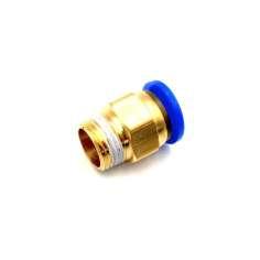 """Adaptador reto de tubo com rosca Ø 8mm-3/8 """""""