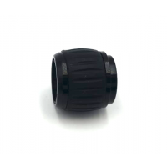 Abrazadera de aluminio cónica para unir tubos Ø 16x14mm. + Ø 19x17mm.