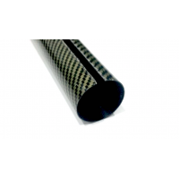 Protector covers bars or tubes. Carbon-kevlar. (For measurements from 40 mm outside Ø)