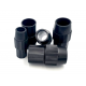 Conical nylon clamp to join tubes