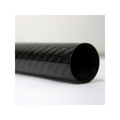 Tubo de fibra de carbono (34mm. Ø exterior - 32mm. Ø interior) 2000mm.