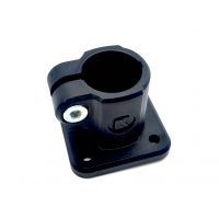 Base clamp-connector for outer Ø 12-18mm tube