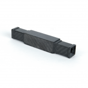 2 way carbon square straight connector