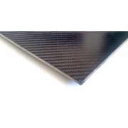 Carbon fiber sandwich plate with inner core - 400 x 250 x 5,5 mm.