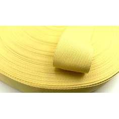 Cinta plana de fibra de kevlar trenzada de 50mm para protección