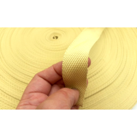 Commercial sample - Kevlar fiber tape for protection - 25mm.
