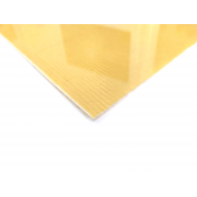Single-sided Kevlar fiber plate - 400 x 200 x 1 mm.