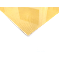 Single-sided Kevlar fiber plate - 400 x 400 x 1 mm.