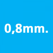 0.8mm thickness