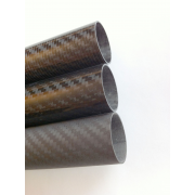 Commercial sample of carbon fiber tube
