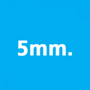 Thickness 5mm.
