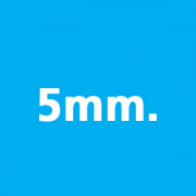 5mm thickness