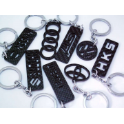 CUSTOM CARBON KEYCHAINS