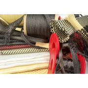 Fabrics and reinforcements for resins