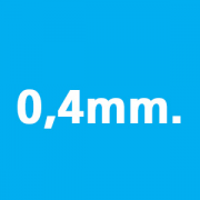 0.4mm thickness